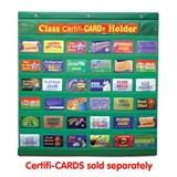 Green CertifiCARD & Class Pass Holder (fits 36 Cards/Passes)