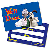 Well Done Wallace & Gromit CertifiCARDS (10 Cards - 86mm x 54mm)