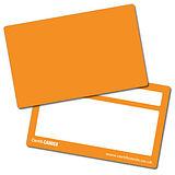 Pack of 10 Orange CertifiCARDS