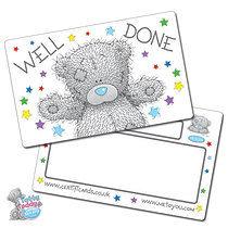 'Well Done' Tatty Teddy Plastic CertifiCARDS x 10