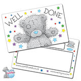 Pack of 10 Well Done Tatty Teddy CertifiCARDS