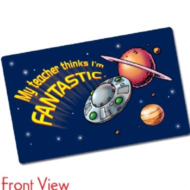 My Teacher Thinks I'm Fantastic CertifiCARDS (10 Cards - 86mm x 54mm)