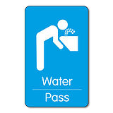 Water Pass - Plastic Class Pass (10 Wallet Sized Cards)