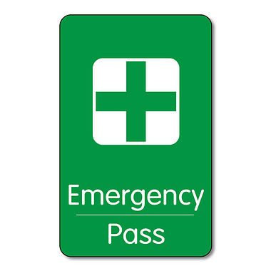 Pack of 10 Emergency Class Pass