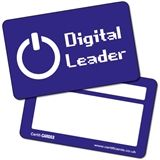 'Digital Leader' CertifiCARDS - Blue (10 Wallet Sized Cards)