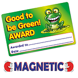 Magnetic Good to be Green Award Cards (10 Cards - 86mm x 54mm)