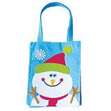 Snowman Felt Christmas Gift Bag