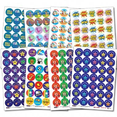 Value Pack Mixed Scented Stickers (37mm x 280)