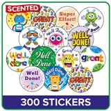 Scented Stickers Value Pack (240 Stickers - 25mm)