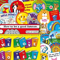 Reception/Nursery Bumper Value Pack 781 Stickers and 2 Posters