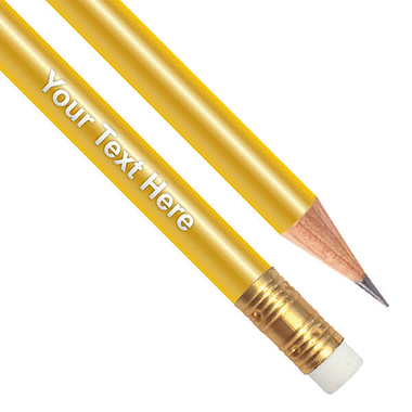 Personalised Gold Pencil