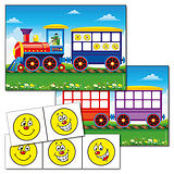 Counting Train Card Poster Set