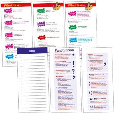 Vocabulary Book - Children (210mm x 99mm - 56 Pages)