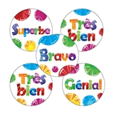 French Stickers (30 Stickers - 25mm)