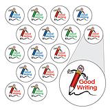 Sheet of 196 Diddi Dot Good Writing 10mm Stickers