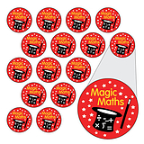 Magic Maths Stickers (196 Stickers - 10mm)