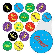 Metallic Reward Stickers (196 Stickers - 10mm)