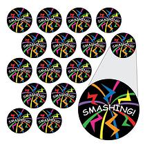 Smashing Stickers (196 Stickers - 10mm)