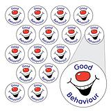 Sheet of 196 Diddi Dot Good Behaviour 10mm Stickers
