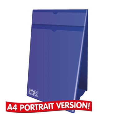 Worksheet Holder - Blue (A4 Portrait - Double Sided)