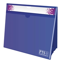 Blue Worksheet Holder