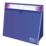 Worksheet Holder - Blue (A4 - Double Sided)