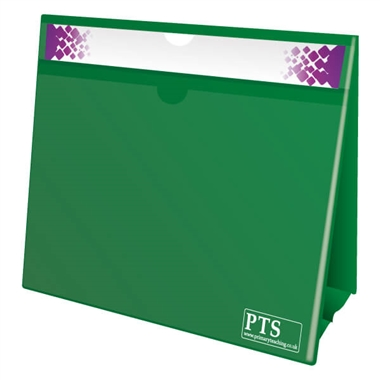 Worksheet Holder - Green (Double Sided)