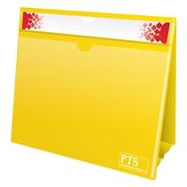 Yellow Worksheet Holder