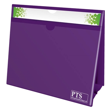 Worksheet Holder - Purple (Double Sided)