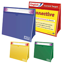 Worksheet Holders (A4 - 5 Colours to choose from)