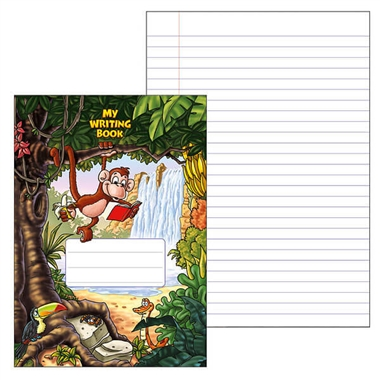 Home Exercise Book - Jungle (A4 - 40 Pages)