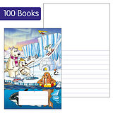 Exercise Book - Polar (100 Books Included)