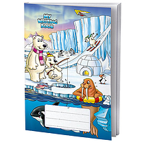 Single Polar Themed 40 Page Lined/Blank Exercise Book
