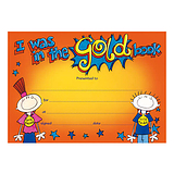 I was in the Gold Book Certificates (20 Certificates - A5) Brainwaves