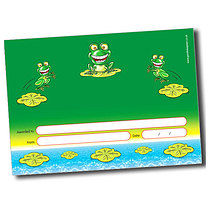 Personalised A5 Frog Certificates
