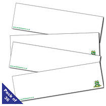 Pack of 36 Good To Be Green Name Cards