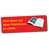 56 Remember to Take Care with Presentation Marking Stickers