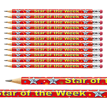 Pack of 12 Star of the Week Pencils
