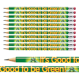 Good to be Green Pencils (12 Pencils)