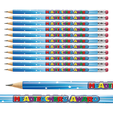 Headteacher's Award Pencils (12 Pencils)