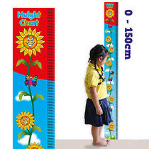 Sunflower Height Chart 150cm
