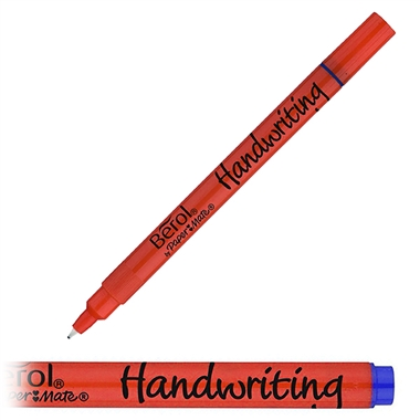 Handwriting Berol Pen - Blue