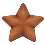 Bronze 3D Star Badge - Bronze Metal