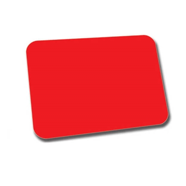 Mini Library Labels - Red (120 Labels - 22mm x 16mm)