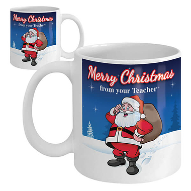 Merry Christmas from Your Teacher Ceramic Mug