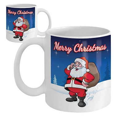Merry Christmas Ceramic Mug
