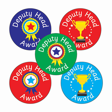 Deputy Head Award Stickers (70 Stickers - 25mm)