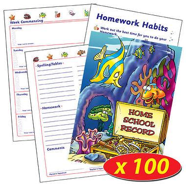 Home School Record Books