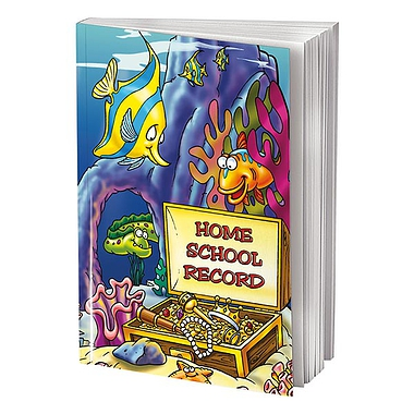 Home School Record Book - Underwater (A5 - 88 Pages)