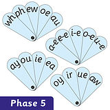 Phase 5 Synthetic Phonic Fans Set